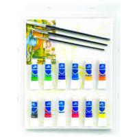 Best Rectangular Drawing Art Sets , Fashion Art Studio Paint Set For Adults wholesale
