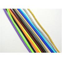 China Coloured 3mm Elastic Cord String Elastic Beading Thread High Tenacity on sale