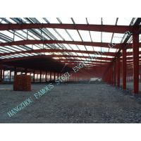 China H Section Beams / Columns Steel Framed Buildings Pre Engineered 80 X 100 Clearspan on sale