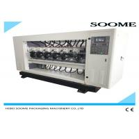 Best PLC Controlled Slitter Scorer Machine For Cutting Corrugated Box Up Down Lift Type wholesale