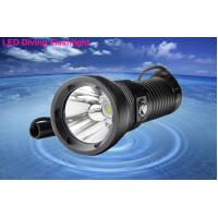 Buy cheap 200m Range LED Dive Torch from wholesalers