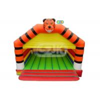 China Commercial Tiger Jumper Adult Size Bounce House 5 - 10 People Game Capacity on sale