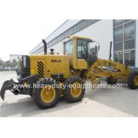 Best 16 Tons Road Construction Safety Equipment Front Blade Motor Grader With 1626mm Cutter wholesale