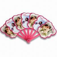 Best Hand Fans, Customized Logo Printings are Accepted, Made of PP, Suitable for Promotional Purposes wholesale