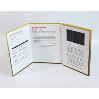 Best A4 size portrait lcd video greeting card , Full colors video brochure for christmas wholesale