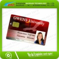 Best High quality Credit Card Size cr80 pvc smart chip ic  cards wholesale