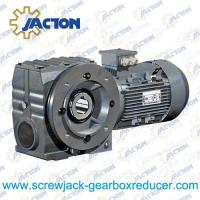 Best 3/4HP 0.55KW Helical-worm gear units Gear Reducer,Helical Worm geared motor Specifications wholesale