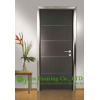 China Customized Ecological Interior Door For Sale, Aluminum Modern Door For Restaurant Use on sale