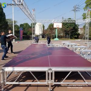 China Aluminum Outdoor Concert Stage Sale Car Turntable Car Turning Platform Car Rotating Platform rotating stage on sale