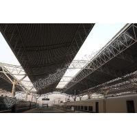 China Railway Station Prefabricated Steel Structures , Steel Frame Buildings on sale