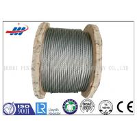 Best Strong Galvanized Steel Wire Rope , Aircraft Grade Wire Rope Anti Rotation For Heavy Machinery wholesale