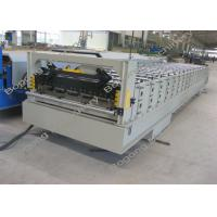 Best Aluminum Roof Panel Roll Forming Machine / Equipment PLC Control System wholesale