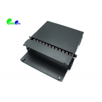 "Buy cheap FTTH 19"" 3U MPO/MTP-LC 288F ODF Fiber Patch Panel from wholesalers"