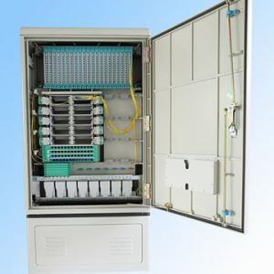 Best 288fo Street Fiber Optic Cabinet Outdoor , Fiber Optic Splice Closure Cross Connection wholesale