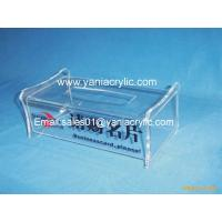 Best Plexglass Decorative Rectangle Facial Tissue Dispenser / Napkin Box holder For Home wholesale