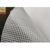 China PP Material Plastic Mesh Netting , Heavy Industrial Filter Mesh 500GSM Square Hole on sale