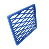 Best factory price powder coating aluminum stretching mesh for decoration wholesale