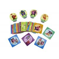 Best 2 Player Board Card Games Children Playing Gloss 300gsm C2S paper Material Colored wholesale