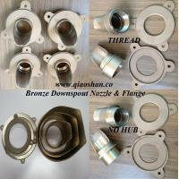 Best 2-10 No Hub and Thread Bronze, Nickel Bronze and Stainless Steel Downspout Nozzle for Roof Drainage wholesale