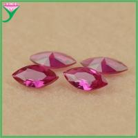 Best wholesale 5# loose marquise industrial synthetic ruby on sale wholesale