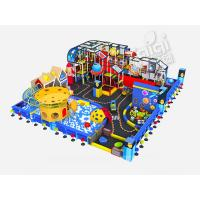 Cheap CE Certefied Indoor Playground Equipment , KaiQi Soft Playground With Colorful Printing for sale