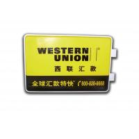 China Rectangle Light Box With Wall Mounting Brackets , LED Outdoor Advertising Light Box on sale