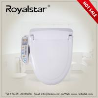 Best Open Front Heated Toilet Seat Cover , Heated Commode Seat Built In Seat Sensor wholesale
