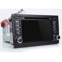 China Split Screen Audi A4  2 Din Car DVD Player With Bluetooth Android 7.1.1 OBD Support on sale