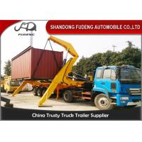 China 40 Foot Container Side Lifter Crane Truck Trailer  Heavy Load Capacity on sale