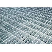 China Serrated Anti Skid Exterior Metal Stair Treads Carbon Steel Q235A Material on sale