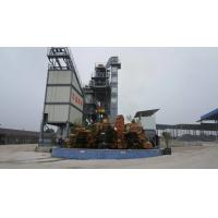 China 160KW Draught Fan QLB-3000 Model Asphalt Hot Mix Plant With Bag Dust Filtering on sale