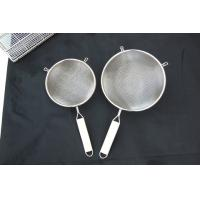 China stainless steel wire mesh strainer on sale