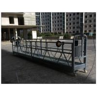 Best Aluminium Indonesia ZLP800 aerial lifting suspended platform for external building cleaning wholesale
