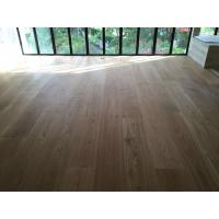 Buy cheap High quality 300mm wide White Oak Engineered Flooring for Singapore Villa from wholesalers