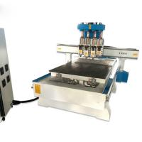 Best WDL 1325 Wood Cutting CNC Router Wood Carving Machine for Making Chiar Door wholesale