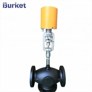 Best Heat Transfer Oil Three-two way Flange type Electric Control Valve wholesale