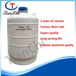 Best High quality semen dewar container for liquid nitrogen 35 L aluminum container for sale wholesale