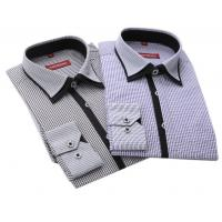 Best New arrival Long sleeve shirts men shirts cotton polyester wash business professional men wholesale