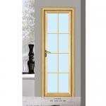 Best Silver Aluminium Glass Doors / Office Tempered Interior Glass Door wholesale