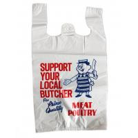Best Printed Plastic  Shopping Bags With Handles , Recycled Biodegradable Shopping Bags wholesale