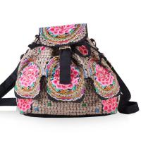 Best Yunnan JIXIU new arrival canvas girls backpack promotional price school bag wholesale