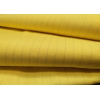 China Industrial Workwear 65%Polyester 34%Cotton 1%Carbon Fiber Antistatic Fabric on sale