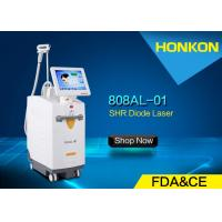 Buy cheap FDA Approved Laser Hair Removal Machines 808nm diode laser 13 * 15mm Spot Size product