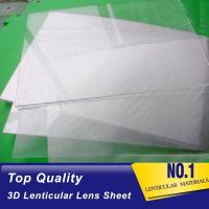 Best Plastic  Lens PS/PET/PP Material 75/100/161 Lpi 3d lenticular lens sheet lenticular printing films with 3d flip effect wholesale