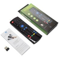 China IR Learning Remote Wireless Air Mouse , Android Tv Box Mouse Keyboard With IR Copy Function on sale