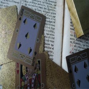 Best Promotional LOGO Printed Custom Professional Poker Novelty Playing Cards wholesale