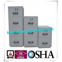 High Security Fire Resistant Fireproof Storage Cabinets For Home / Hotel / Banks