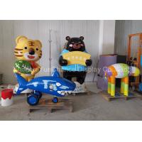 China Theme Park Shopping Centre Decorations Custom Size Fiberglass Cartoon Sculpture on sale