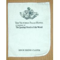 Best White Square Cotton or non woven Hotel shoe shine cloth of Shoe Shine Kit / shoe care kit wholesale