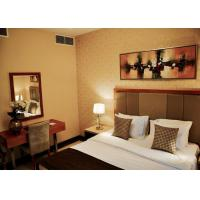 Commercial Hotel Furniture Solid Wood Plywood Fabric Foam Material